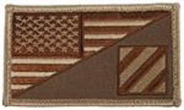 Army 3RD Infantry Desert Flag 2 X 3 Embroidered Patch With Hook Loop - $18.04