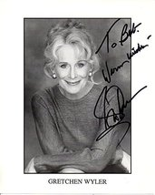"Gretchen Wyler (d. 2007) Signed Autographed ""To Bob"" Glossy 8x10 Photo -... - $29.69"