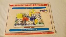 ELENCO ELECTRONICS SNAP CIRCUITS PROJECT INSTRUCTION MANUAL PROJECTS 1-101 - $5.93