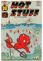 Hot Stuff The Little Devil 55 3.5 VG- 1963 Harvey Stumbo the Giant - $12.86