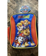 Paw Patrol Pawsome Insulated Kids Lunch Box Bag Tote with Water Bottle P... - $17.81