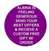 ALBINA IS FEELING GENEROUS SEND YOUR BEST OFFERS & RECEIVE CUSTOM GIFT! CASSIA4  - Freebie