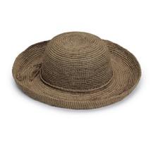 Wallaroo Hat Company Women's Catalina Sun Hat - Handwoven Twisted Raffia... - ₨4,435.27 INR