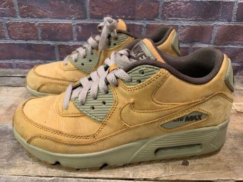 half off 92514 155f5 Nike Air Max 90 Prm per Bambini Taglia 4y Grano Bronzo 943747-700