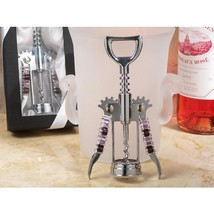 Murano Art Deco Collection Wine Opener with Lavender Beads - 48 Pieces - $216.95