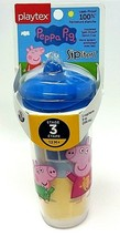 PLAYTEX - Sipsters Peppa Pig Spout Sippy Cup Spill Proof 9 oz (266 ml) N... - $12.81