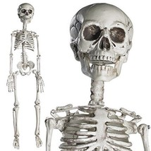 Prextex 30rdquo Halloween Skeleton- Full Body Halloween Skeleton with Mo... - $27.31