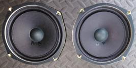 8NN12 Pair Of Speakers, 8 Ohm 10 Watt, 2412921, Sound Great, Hitachi Tv Parts - $24.63