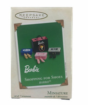2003 Hallmark Keepsake Barbie Shopping For Shoes Ornament Christmas Xmas... - $13.96