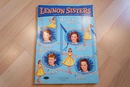 Whitman 1958 LENNON SISTERS TRI-FOLD PAPER DOLL SET PARTIALLY CUT - $49.45