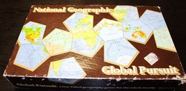 National Geographic Global Pursuit Board Game Homeschool Educational Geo... - $7.30