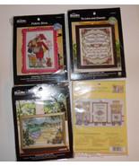 Plaid Bucilla Counted Cross Stitch WM45620,WM40777,WM45633,45708 NIP - $8.44