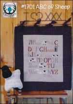 ABC of Sheep cross stitch chart Thistles - $10.80