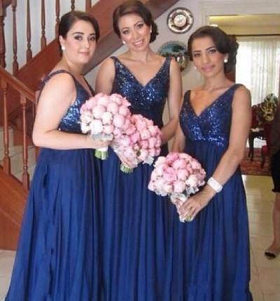 navy bridesmaid dress,long bridesmaid dress,sequin top bridesmaid dresses