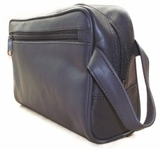 Black Leather Wash Bag (IT264/Black) that can b... - $40.80 - $57.13