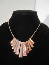 Bold Bling Crystal Dusted Dangle Necklace - $10.00