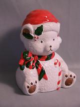 "Vintage Polar Bear Bank Snow Christmas Savings, approximately 6"" tall - $7.30"