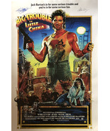BIG TROUBLE IN LITTLE CHINA SIGNED POSTER - $180.00
