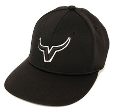 Vikings V Black Baseball Cap Hat Youth XS/Small S PTS 40 Boys Non Adjust... - $8.99