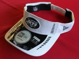 New Era Nfl New York Jets White Green Design Unisex Football Visor New - $20.00