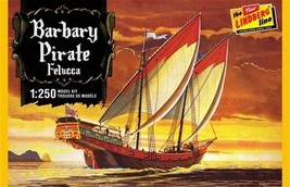Lindberg Barbary Pirate Felucca Ship 1:250 Scale Model Kit #HL205/12 New... - $14.88