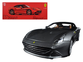 Ferrari California T Closed Top Metallic Grey Signature Series 1/18 Diec... - $79.18