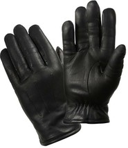 Black Cold Weather Insulated Leather Police Gloves - $40.21 CAD
