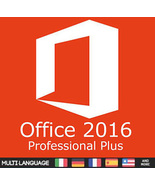 Microsoft Office 2016 Professional Plus Key with Download 32/64 Bit - $10.90