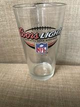 Coors Light Beer NFL Pint Glass 16oz - $14.95