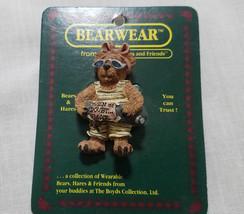 Boyds Bears Bearware Pin Takin It Easy - $9.00