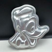 Walt Disney Cake Pan Vintage 1976 Wilton Silver Collectible Donald Duck Face Hat - $27.72
