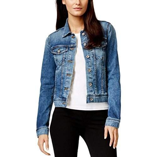 Big Star Women's Copen New Main Wash Denim Jacket (Medium, New Main)
