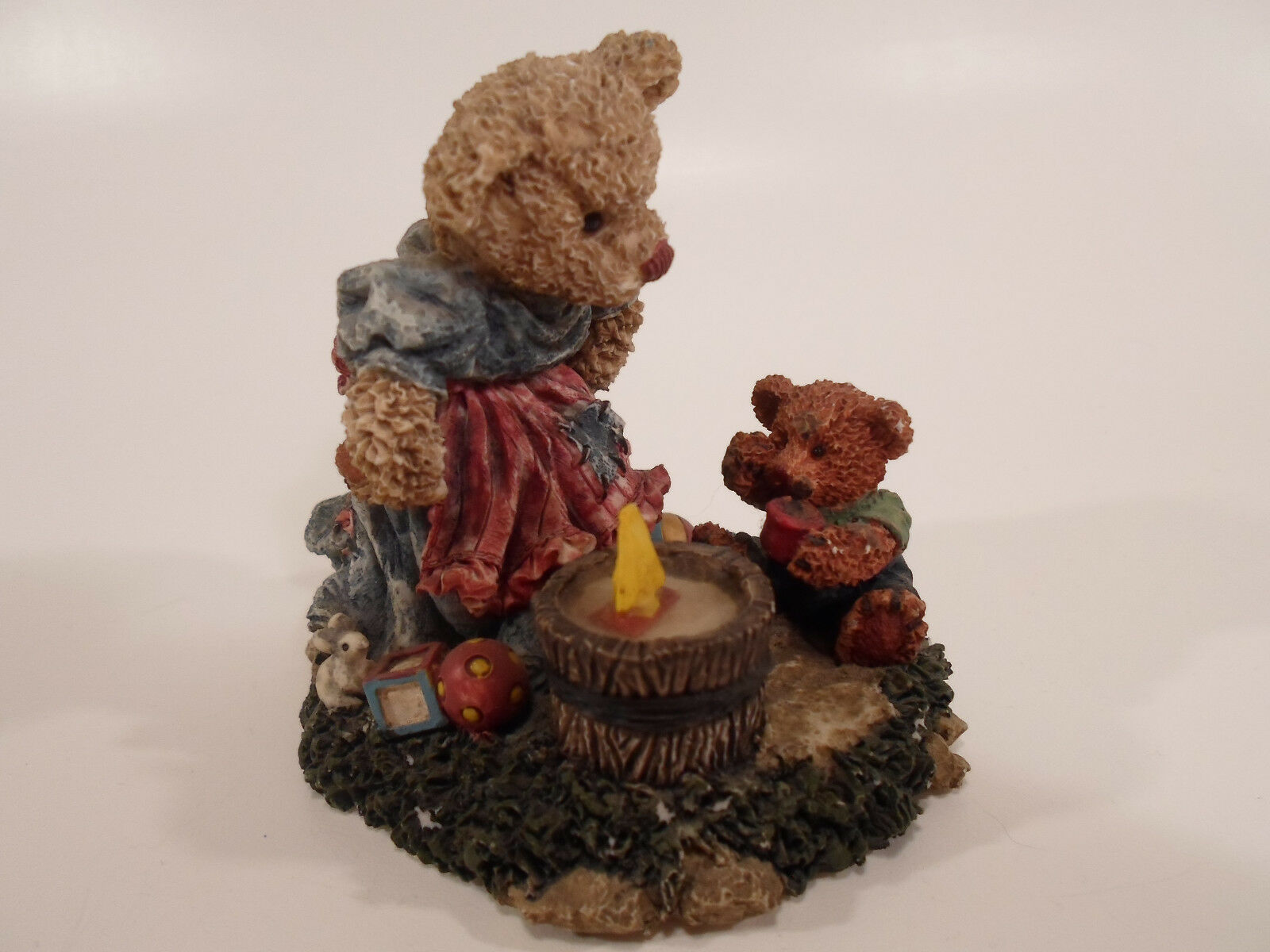Primary image for Cottage Collectible GANZ BEARS Figure will be Boys RARE 1995 Lorraine  CC2015