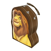 Walt Disney The Lion King Movie Simba Large Tin Tote Shaped Lunchbox NEW... - $13.54