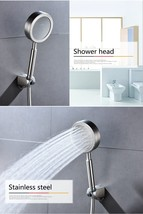 Stainless Steel Brushed Nickel Handheld Shower Head - $39.20