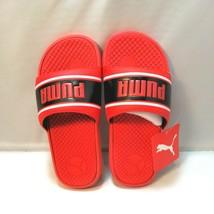 Puma Cool Cat Sport Retro PS Red Slip On Slides Sandals Size 2C NEW NWT - $29.64