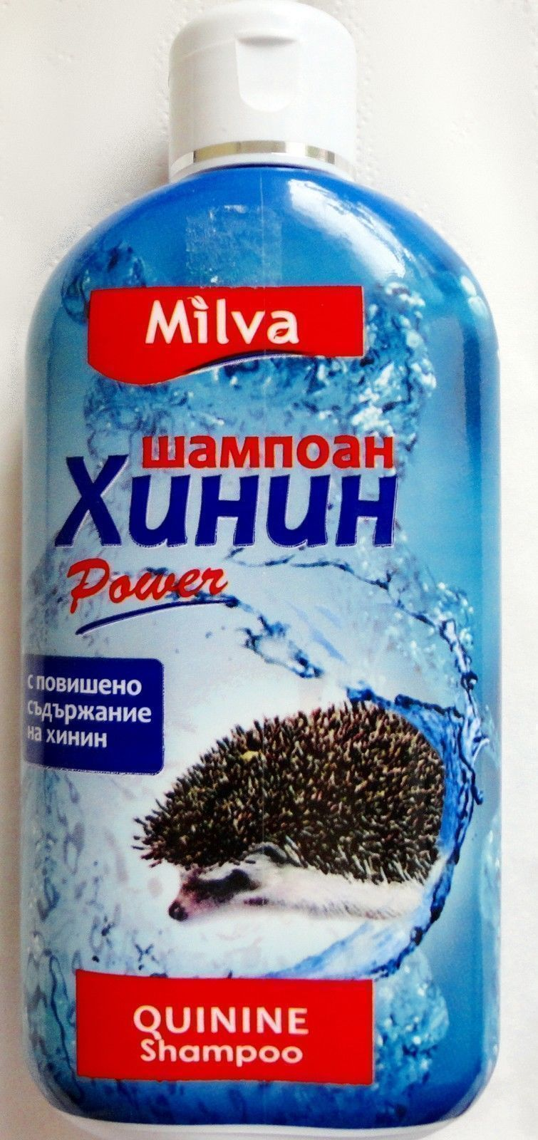 Milva HAIR SHAMPOO 200ml QUININE POWER High Grade Extract Hair Growth Booster