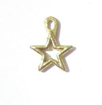 Barbie Doll Accessory Jewelry Jewel Hair 1995 Gold Star Dangling Earring... - $1.97