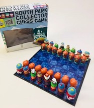 South Park Comedy Central Complete Chess Set Collectors 2004 Board Game - $45.22
