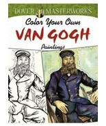 Adult Coloring Book: Color Your Own VAN GOGH Paintings by Dover Masterwo... - $10.39