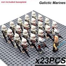 23 PCS/Set Star Wars GALACTIC MARINES Minifigure Bricks Building Blocks ... - $29.45