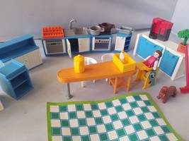 Playmobil 5329 Grand Kitchen Furniture Room Play Set For Victorian Mansi... - $31.24