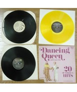Record Album Qty 5 Dancing Queen Steppenwolf Nitty Gritty Christmas Gene... - $21.85