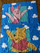 2 Disney Winnie The Pooh Piglet Standard Pillow Case Blue White Clouds V... - $11.88