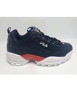 Men's Fila Navy   Red   White Fashion Sneakers - $69.00