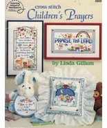 Cross Stitch Inspirational Worship Children's Prayers Linda Gillum Patterns - $12.99