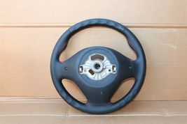 12-18 BMW F30 Sport Steering Wheel w/ Cruise BT Volume W/O Paddles -RED STITCH image 8
