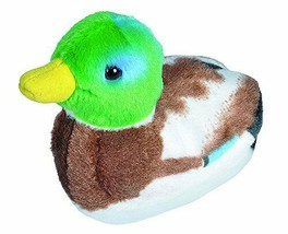 Wild Republic Audubon Birds Mallard Duck Plush With Bird Sound, Stuffed ... - $16.20