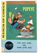 March of Comics #246 1963-Popeye- Sears Promo Comic - $27.32
