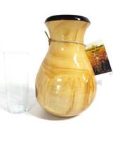 "Original Aspen - Hand-Carved Wooden Vase - 9"" Vase B - $78.54"